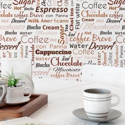 Papel de Parede Café e Cappuccino