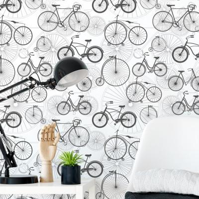 Papel de Parede De Bicicletas Variadas