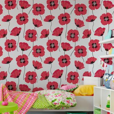 Papel de Parede Flores (Pink)