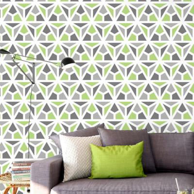 Papel de Parede Triângulos Mosaico