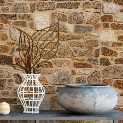 Papel de Parede Muro de Pedras (Canjiquinha)