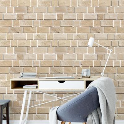 Papel de Parede Muro de Tijolinhos