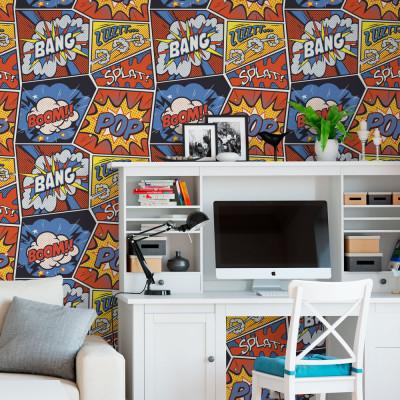 Papel de Parede Pop Art Geek
