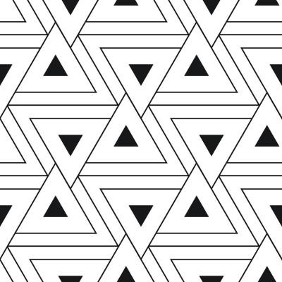 Papel de Parede Triângulos Abstratos