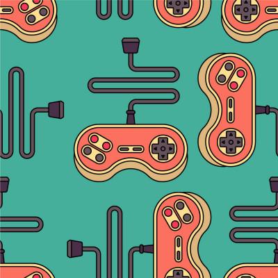 Papel de Parede Videogame Antigo