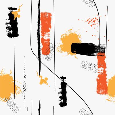 Papel de Parede Manchas de Tintas