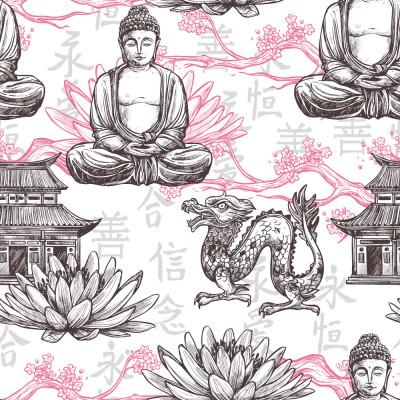 Papel de Parede Buda