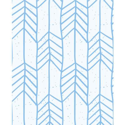 Papel de Parede Infantil Setas (Azul)
