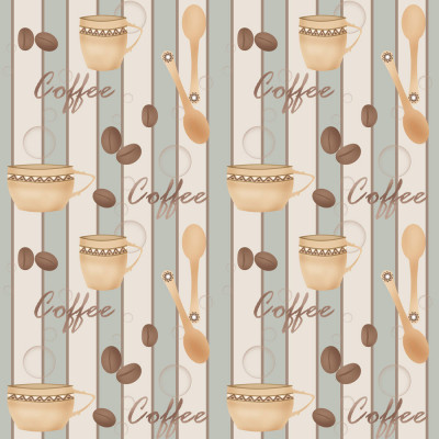Papel de Parede Xicara de Café
