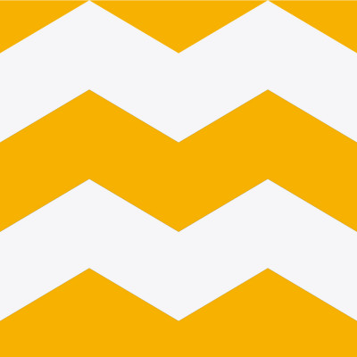 Papel de Parede Chevron Amarelo