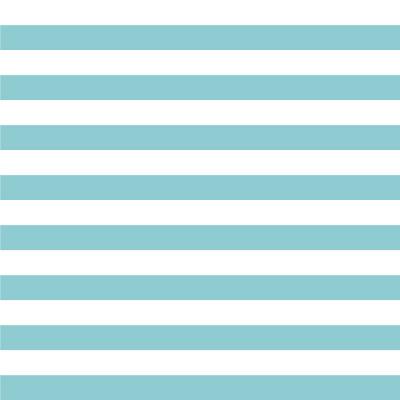 Papel de Parede Azul Turquesa com Listras