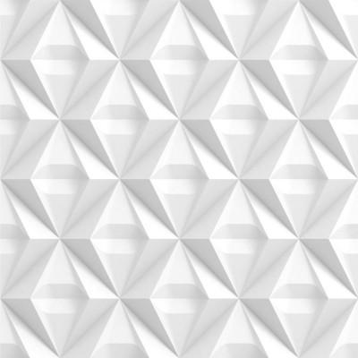 Papel de Parede Losangos Abstratos 3D