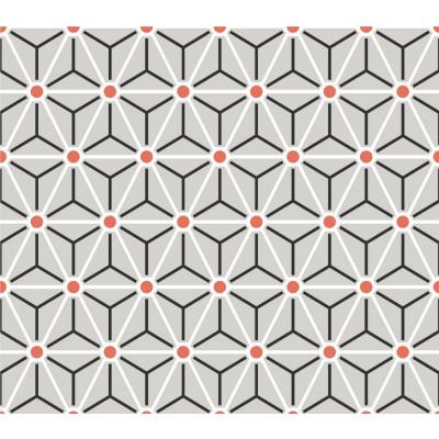Papel de Parede Cubos e Linhas Abstrato