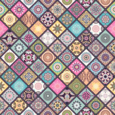 Papel de Parede Mosaico Arabesco