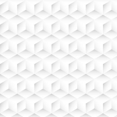 Papel de Parede 3D Abstrato (Branco)
