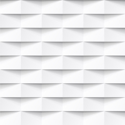 Papel de Parede Branco 3D ll