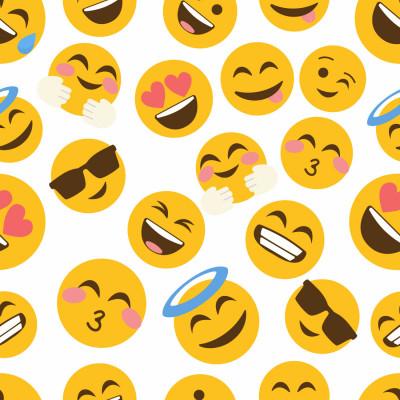 Papel de Parede Carinhas Emojis