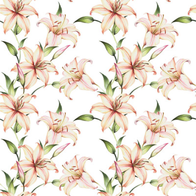 Papel de Parede Flores Lírios ll