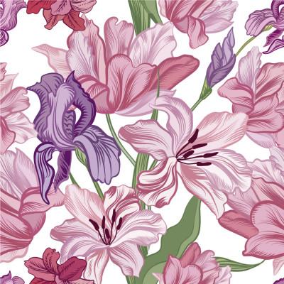 Papel de Parede Flores de Lírios