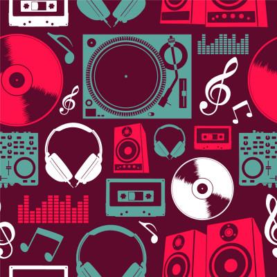 Papel de Parede Aparelhos Musicais