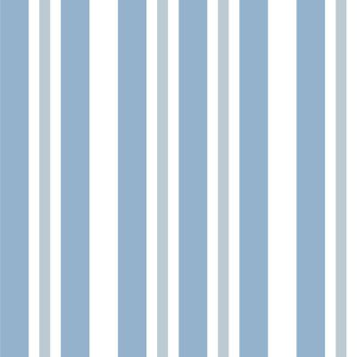 Papel de Parede Tons Azuis Listras Verticais Assimétricas