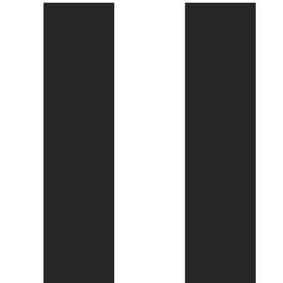 Papel de Parede Preto e Branco com Listras