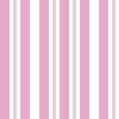 Papel de Parede Tons Rosa Listras Verticais Assimétricas