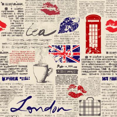 Papel de Parede Jornal de Londres