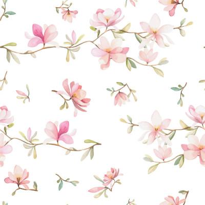 Papel de Parede Flores Delicadas (Infantil)