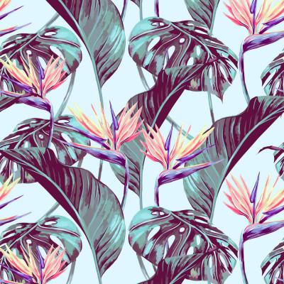 Papel de Parede Plantas Tropicais
