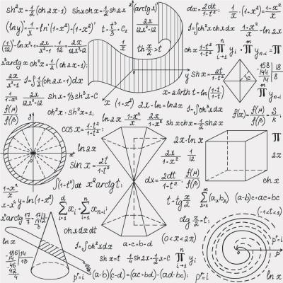 Papel de Parede Fórmulas e Gráficos Matemáticos