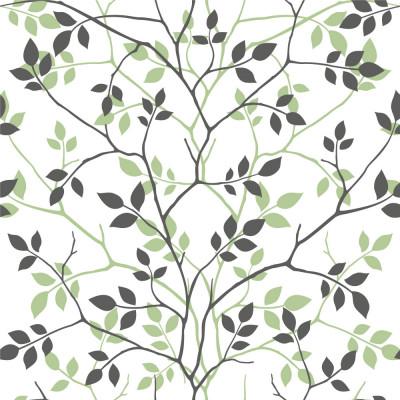 Papel de Parede de Folhas e Galhos