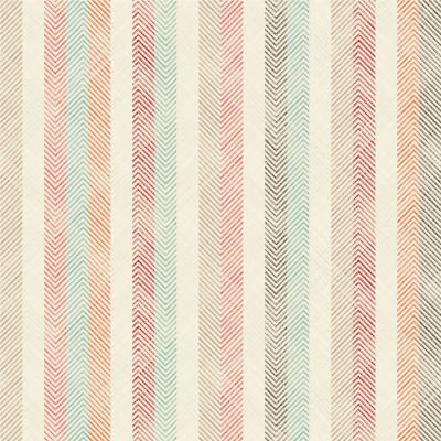 Papel de Parede Listras Coloridas Tecido