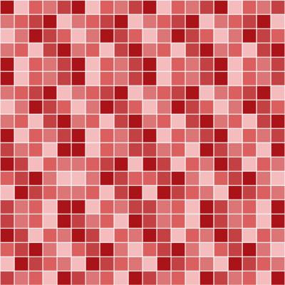 Papel de Parede Pastilhas Vermelhas