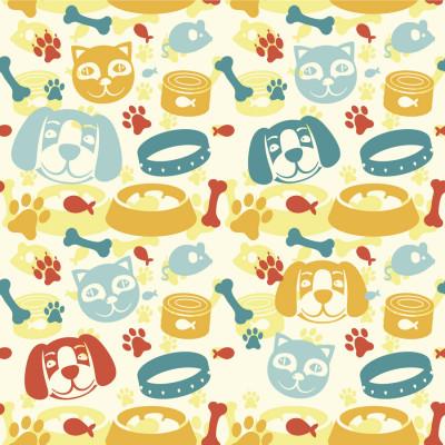 Papel de Parede Cachorros e Gatos