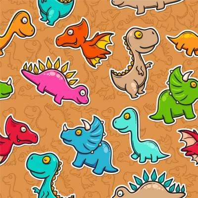 Papel de Parede Dinossauros Divertidos