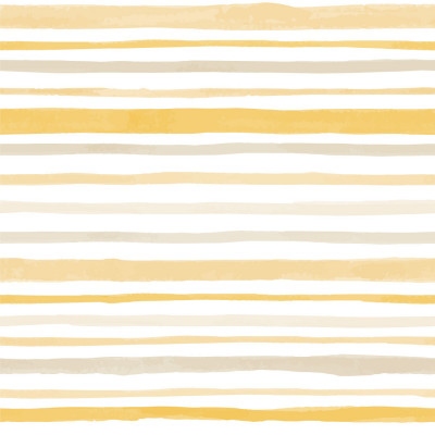 Papel de Parede Tons de Amarelo com Listras Assimétricas