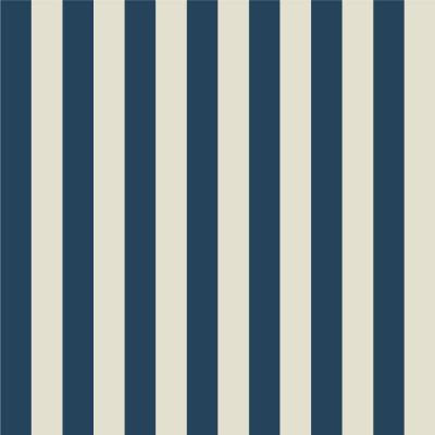 Papel de Parede Listras Azuis e Bege