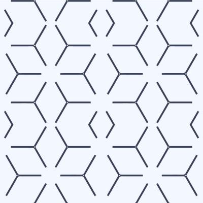 Papel de Parede Abstrato Linhas Azuis