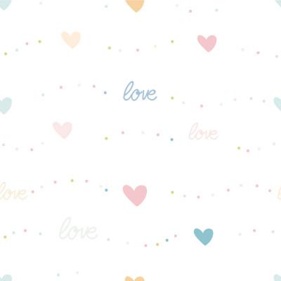 Papel de Parede Corações Love