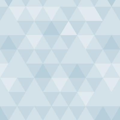 Papel de Parede Triângulos Tons de Azul