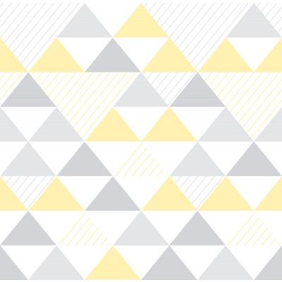 Papel de Parede Triângulos Infantil
