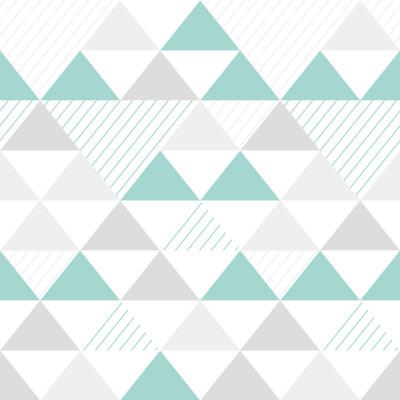 Papel de Parede de Triângulos (Tons de Verde)