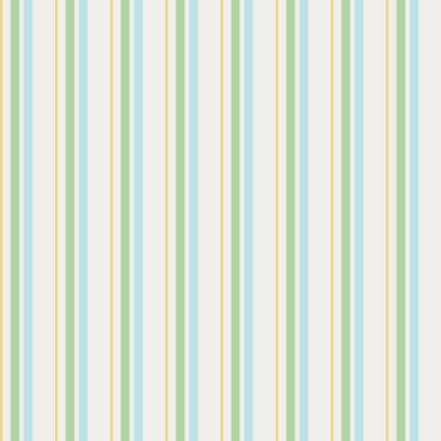Papel de Parede Listras Azul, Verde e Amarelo