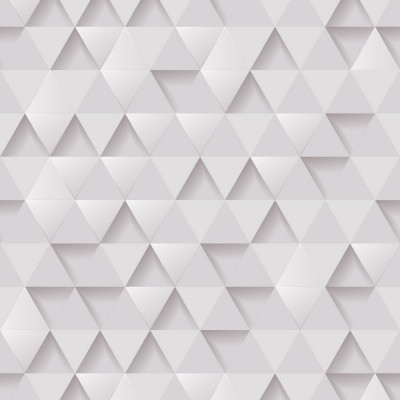 Papel de Parede Geométrico 3D Triângulos